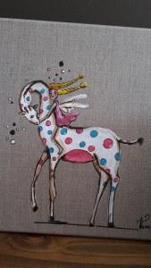 Hommage à Natacha Princesse Girafe